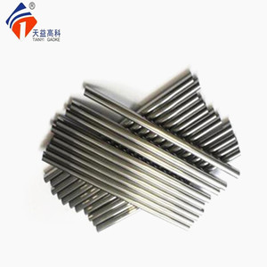 Tungsten carbide rotary burr blank rod