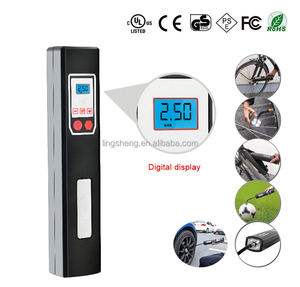 bicycle tire pump with LCD auto stop/bicycle accessory/inflator