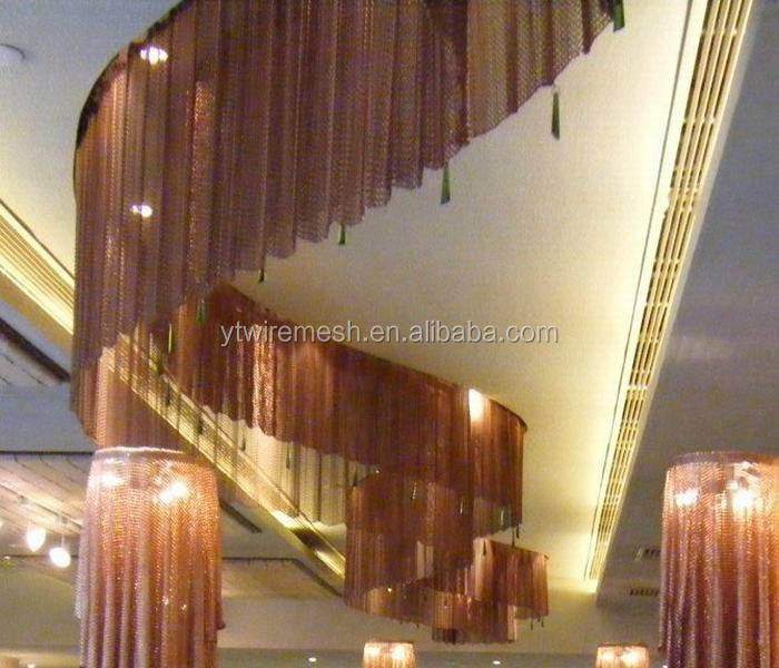 Swish Metal Chain Link Mesh Curtains In Hotel Or Restaurants - Buy ...