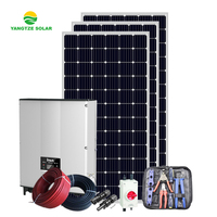 Yangtze 25 years warranty 5kw solar panel power system home