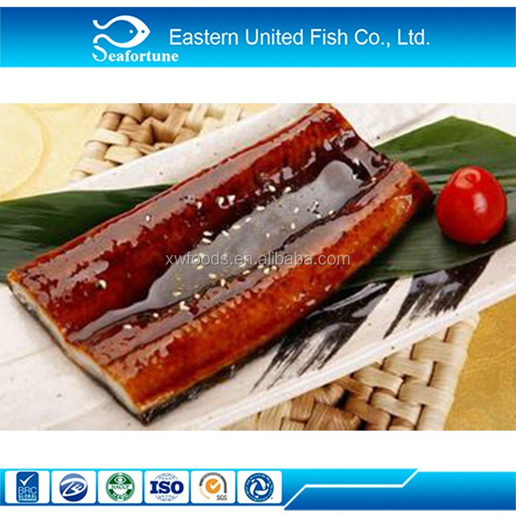 Chinese Convenient Food Roasted Eel Fish / Kabayaki Unagi