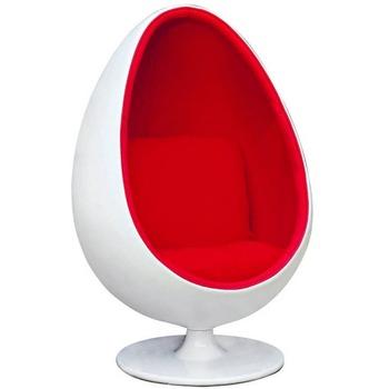 Leisure style eye ball chair cheap egg pod chair oval egg ball chair