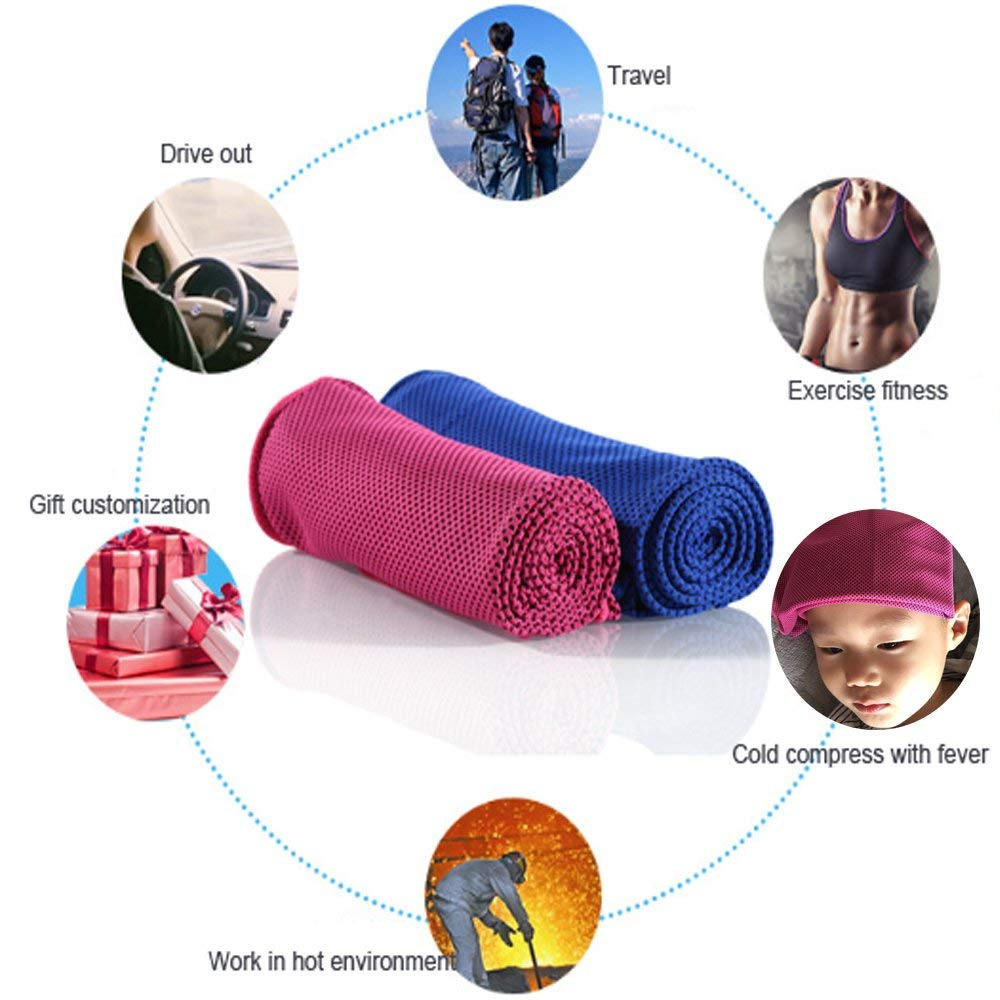 Microfiber Sport Cooling Towel In Bottle For Gym ,Sport,Swimming,Yoga,Fitness