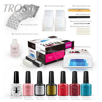 Newest Design Professional Uv Gel Nails Kit Cco Gel Nail Kit With ...