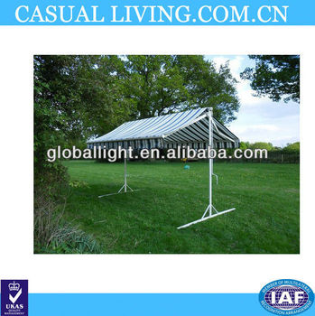 Double Sided Stand Alone Wind Out Awning Sunshade Butterfly Canopy