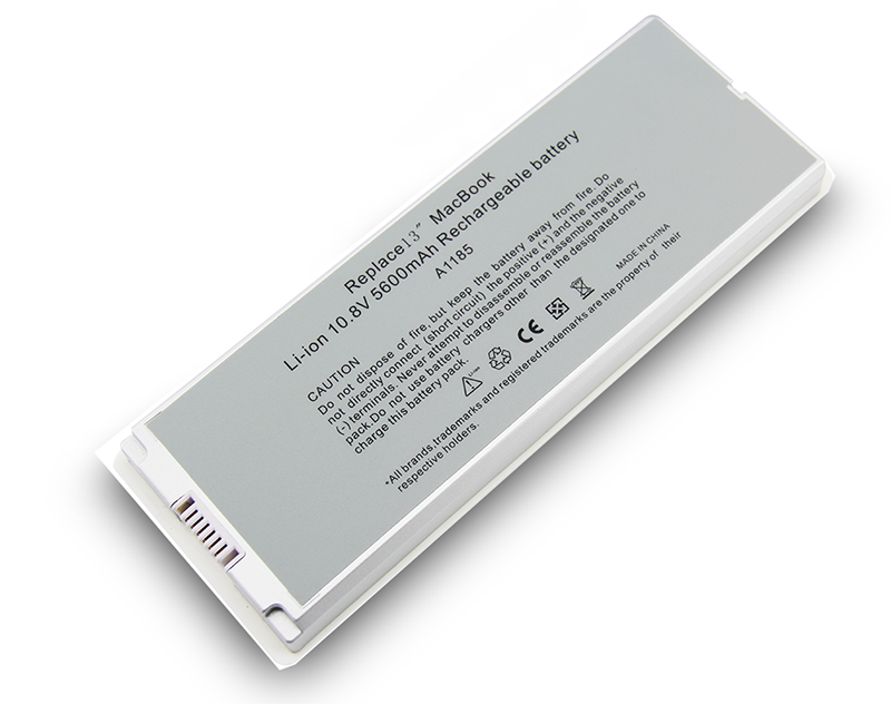 Voor apple macbook a1342 laptop batterij batterij a1331 10.95v 63.5wh