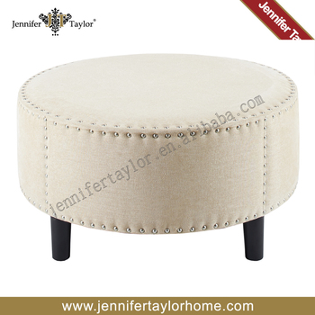 Fantastic Jennifer Taylor Off White Fabric Wood Round Stool For Living Room Buy Wood Round Stool Wood Small Round Stool Wooden Round Stool Product On Pabps2019 Chair Design Images Pabps2019Com