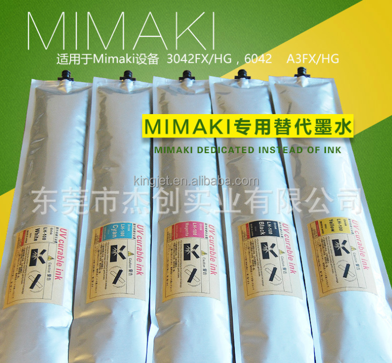 600ml Mimaki compatible for UJF3042/Mimaki 3042 one time use ink and ink cartridge