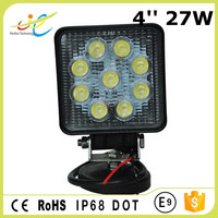 12v automotive led light 27w working light truck work light