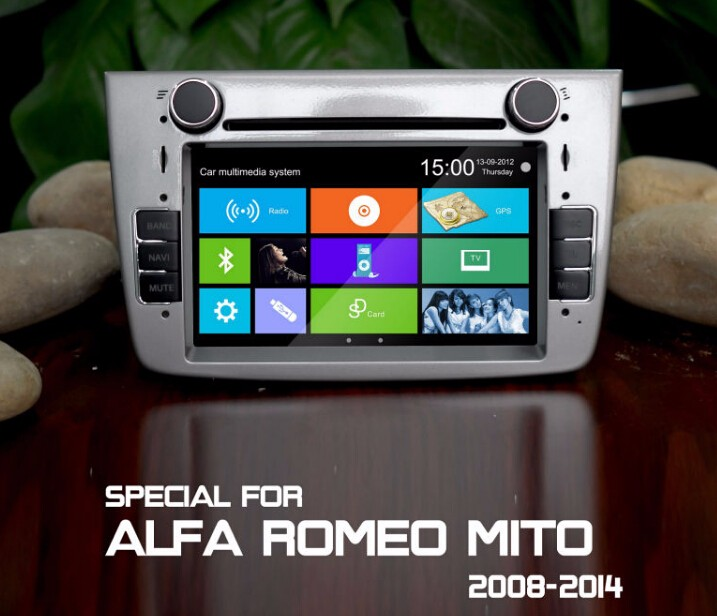 Car Autoradio 2 Din Gps For Alfa Mito 2008 Alfa Romeo