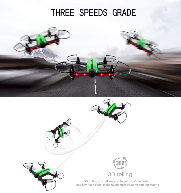 11. T18D_Green_Racing_Drone_with_Altitude_Hold_WIFI_FPV_RC_Drone