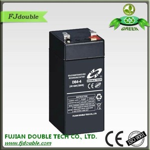 Good price exide cell 4v4ah 20hr digital scale battery