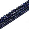 8mm Natural Lapis Lazuli Gemstone Facet loose Beads Approxi 15.5 inch 48pc 1 Strand for Jewelry Making Findings Accessories-Blue