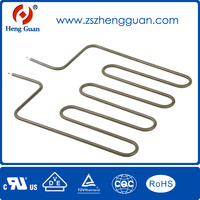 Electric heater coil design cooker heating element