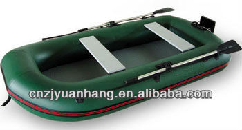 CE certification and PVC hull material inflatable raft fishing boat for sale