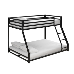 Industrial Loft Children Bunk Bed With A Secured Ladder