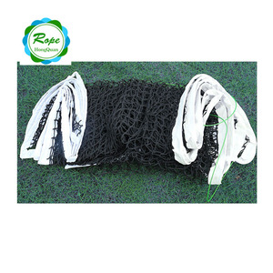 Competitive price polyethylene standard tennis net with 4cm mesh