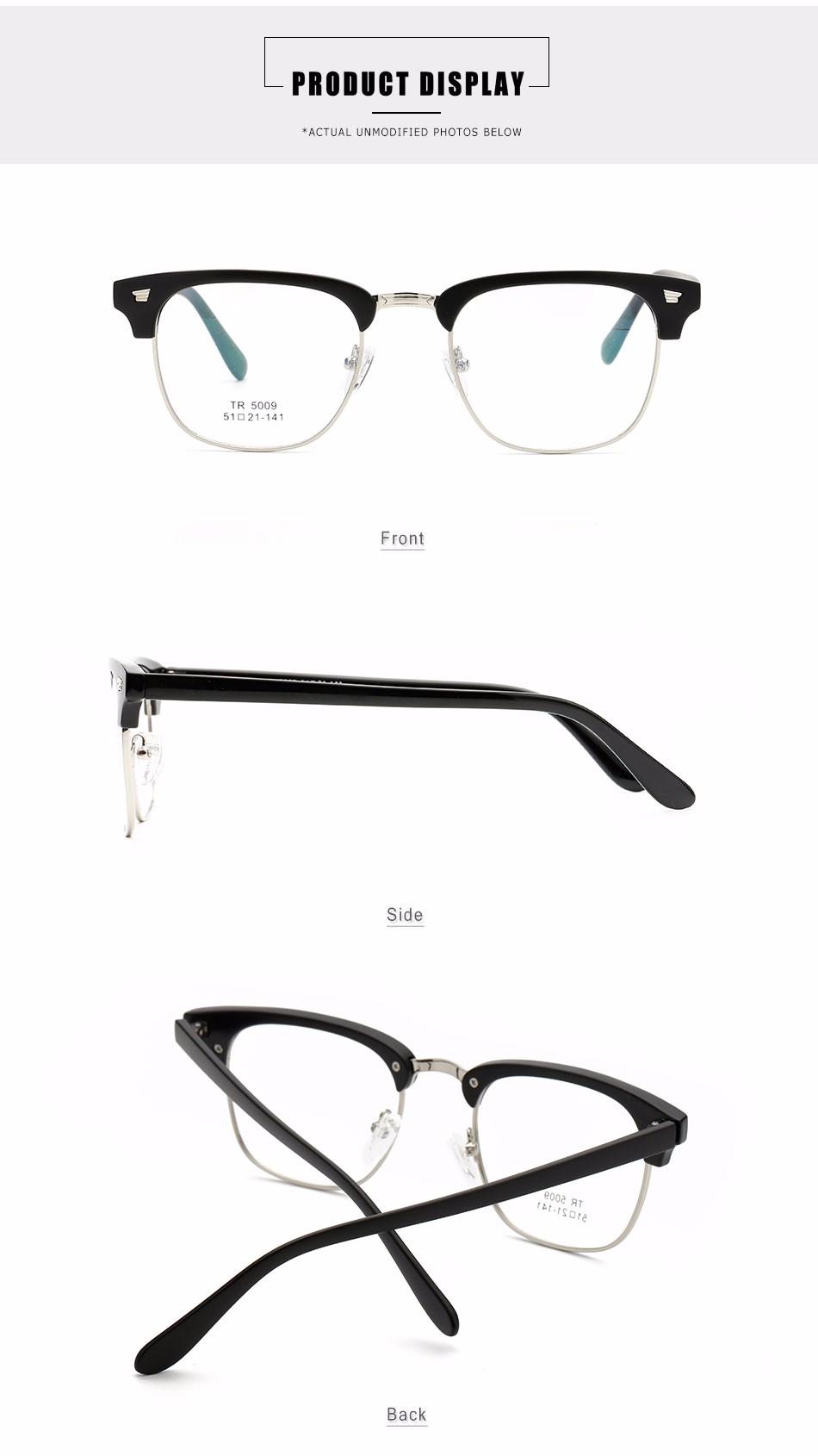CF5009TR China Hersteller Neuesten Design-spektakel TR90 Brillen ...