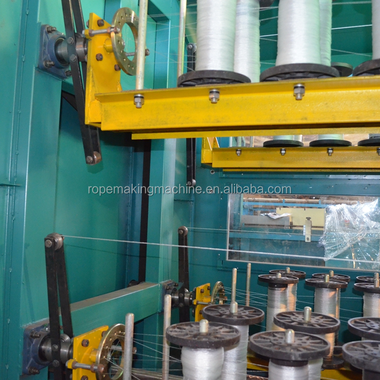 polypropylene polyester sisal flax south korea hemp manila rope twine rope making machine