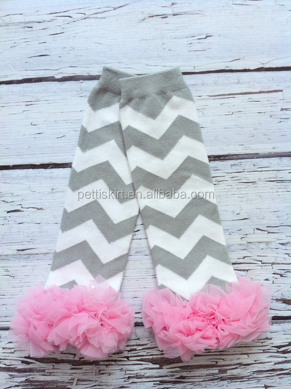 Factory wholesale football baby leg warmers Knit Baby Leggings for Fall/Winter