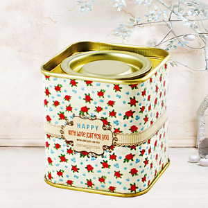 High quality and colorful tin tea box hot sale