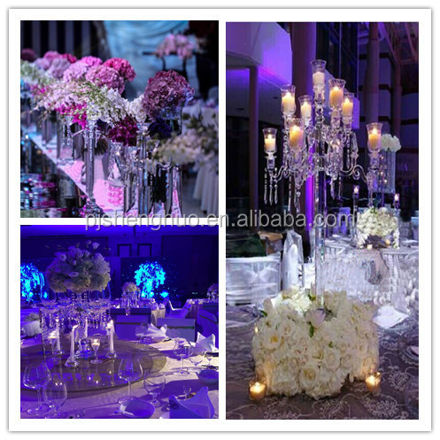 Gorgeous Wedding Decoration Floor Standing Candle Holders