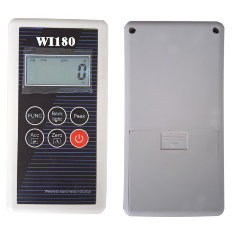 High performance radio frequency 430MHz to 470MHz wifi digital crane scale wireless weighing indicator