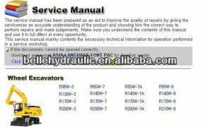 Hyundai Heavy Service Manuals 2012