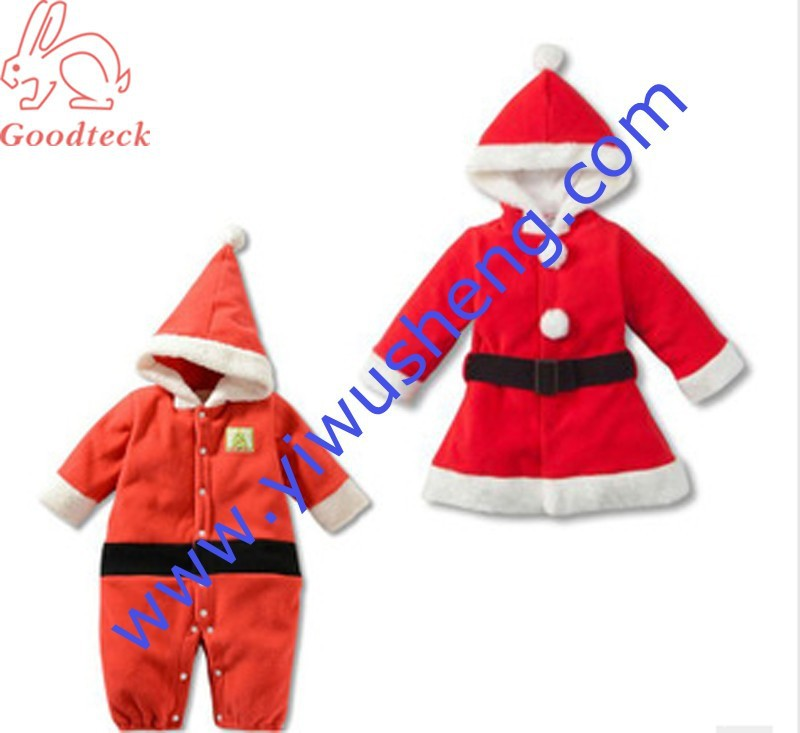 ca92ade3770a Christmas Xmas Baby Boy Girl Kids Fancy Dress Costume Santa Claus ...