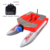 Large fast RC bait ship boat 500m 2kg feeding hook bait loading dual hulls three cabins sea fishing