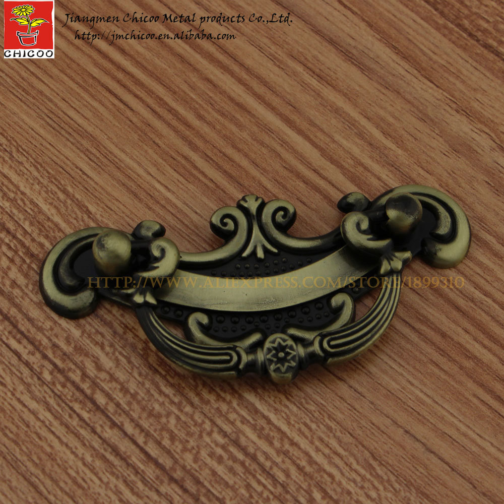 China suppliers zinc alloy Antique Brass furniture <strong>handle</strong> and knob, cabinet flush <strong>handle</strong>,drawer pull
