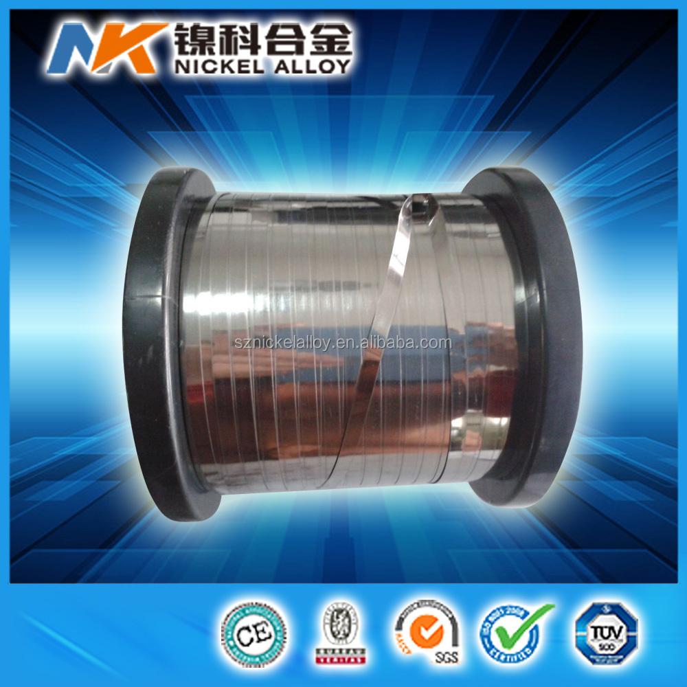Ni80cr20 Flat Wire Nichrome Alloy Ribbon, Ni80cr20 Flat Wire ...