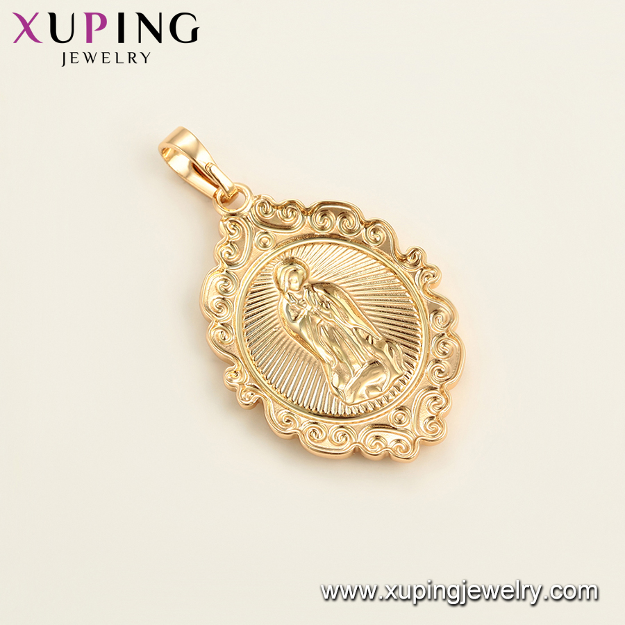 34524-Xuping Jewelry Fashion Religion Pendant with 18K Gold Plated