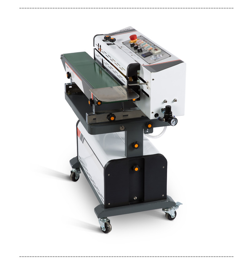 2019 New typle 1080 Continuous vacuum filling sealing machine with good quality and low price