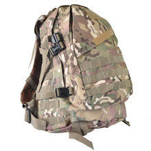40L CP Camouflage Military Backpack, Camping Tactical Hiking Rucksack Double Shoulder Pack Bag Backpack