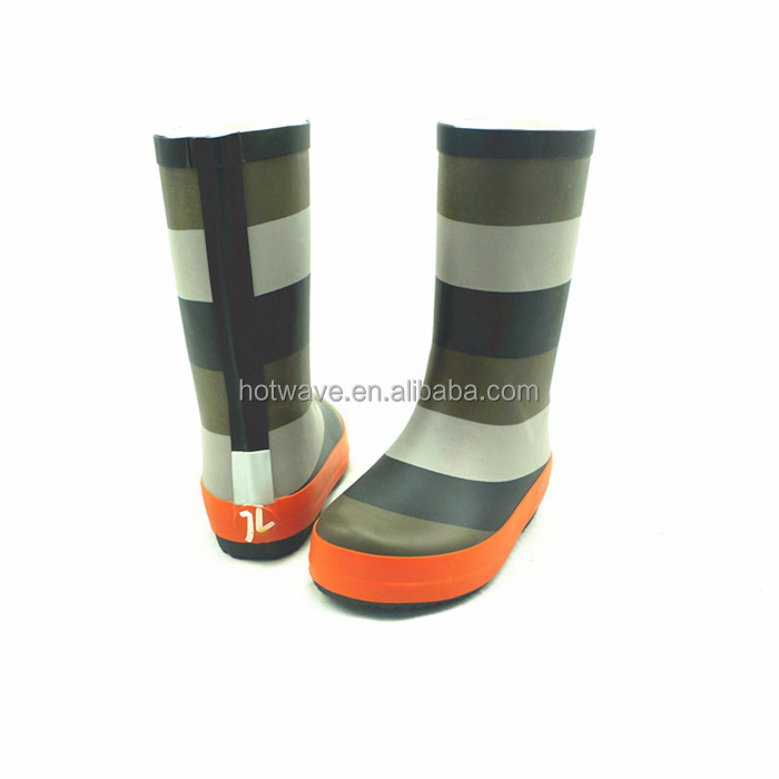 Hot Sale New Products cheap kids rain boots with warm lining