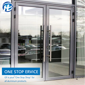 commercial modern shop storefront interior swing glass doors aluminum front entry doors fiberglass exterior large glass doors