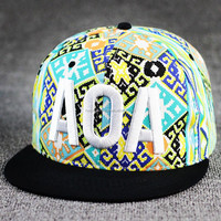 Chain Supplier Custom Snapback Cap Wholesale High Quality Print And Embroidery Snap Back Cap