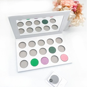 Wholesale high pigment waterproof single eyeshadow 266 colors with custom empty eyeshadow palette
