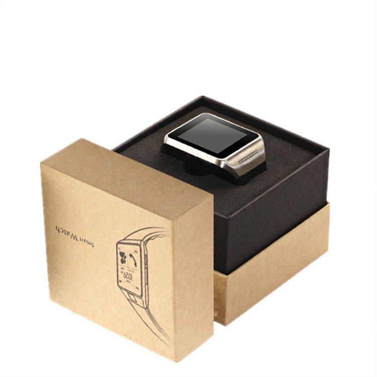 Customized cardboard fancy gift packaging boxes display watch paper box