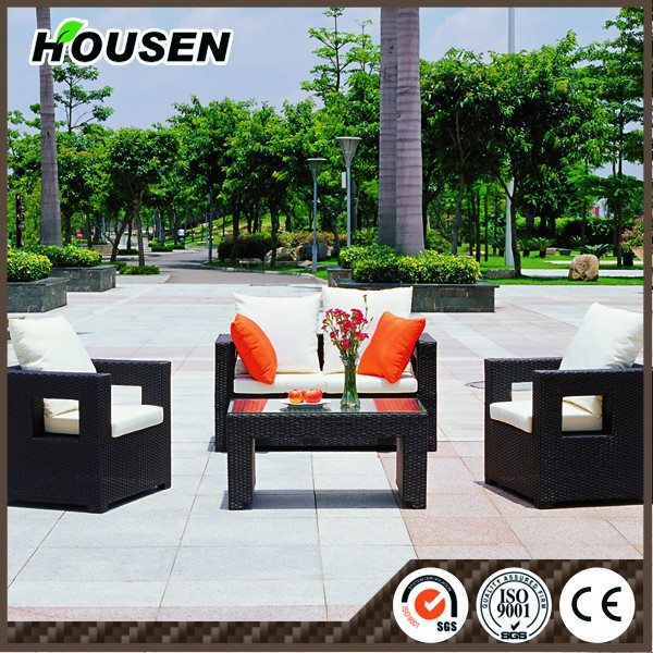 Outdoor furniture plastic bamboo outdoor furniture HS-36-ZXGS-207