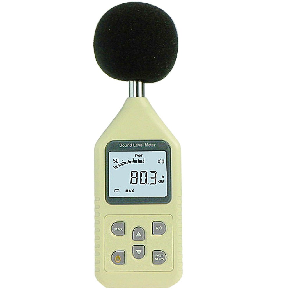 Leaton Professional DL1358 Digital Sound Level Meter /Decibel Meter Decibel Logger 30-130dB ,35- 130dBC(9V Battery Included)