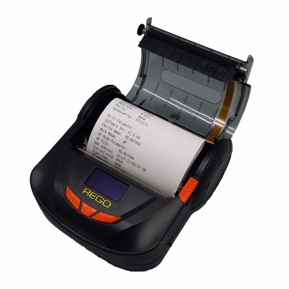 mobile 80mm thermal receipt bluetooth handheld printer for android