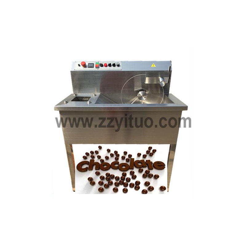 Small Chocolate Tempering With Enrobe Machine