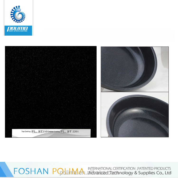 Foshan Polima good abrasive resistance cookware non-stick nano ceramic coating