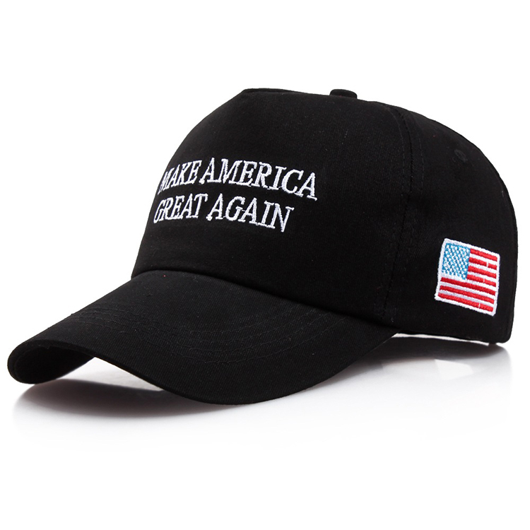 Make America Great Again Donald Trump Hat Custom Logo 5 Panel Baseball Cap bc3515b4a6e