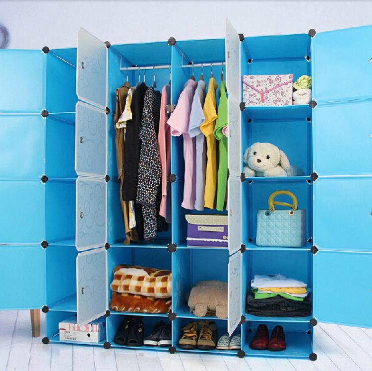 Whole Diy Cube Plastic Clothes Storage Bins Wardrobe For Kids