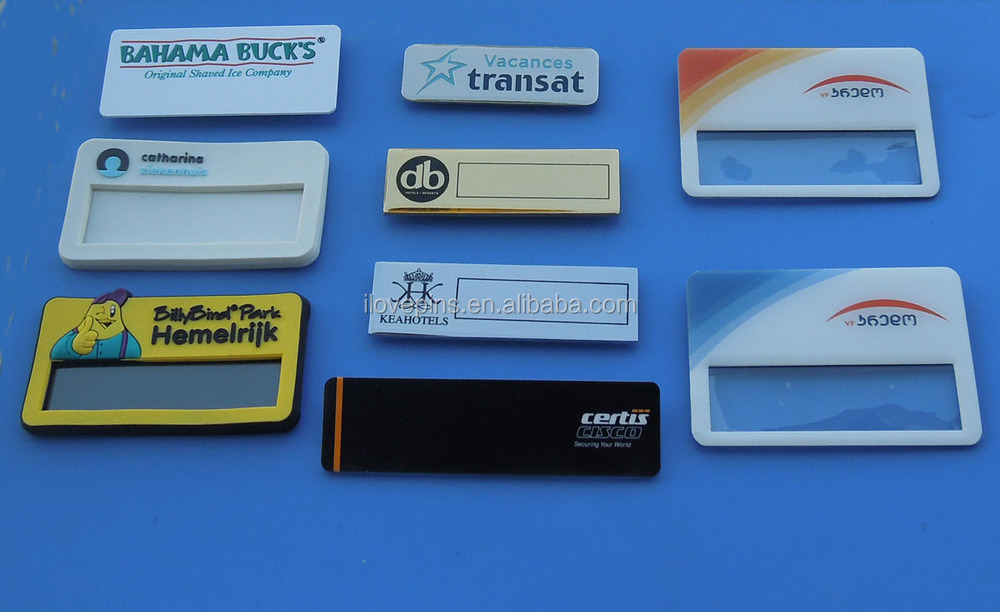 Well known Acrylic Name Badge With Safety Pin - Buy Free Engraved Acrylic  YD59