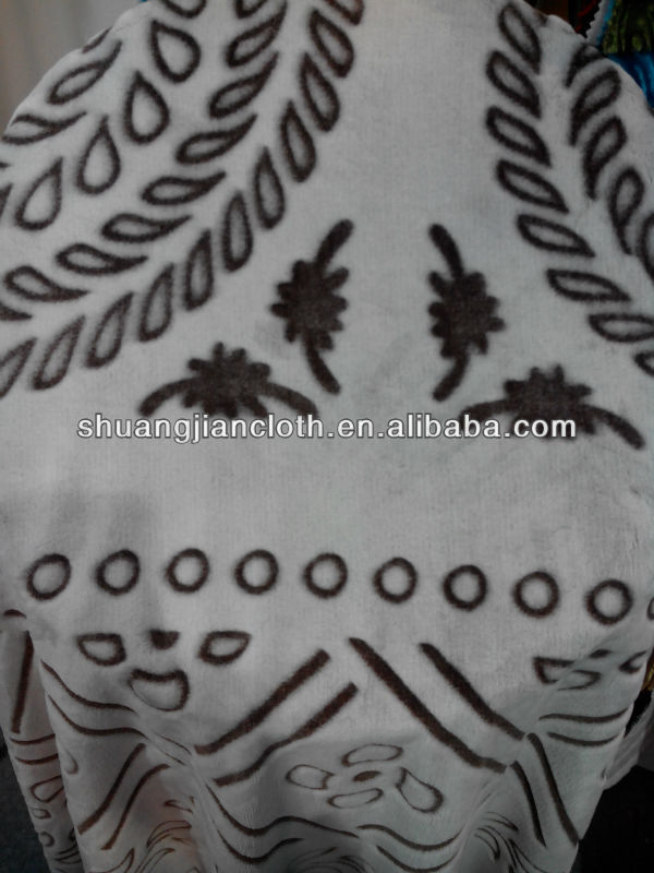Hot sale 100% polyester printed&embossed flannel fabric,flannel blanket,flannel hometex fabric
