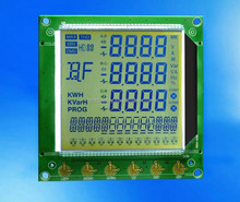 Segments LCD Display For Industrial Meter Customized Experience For 15 Years